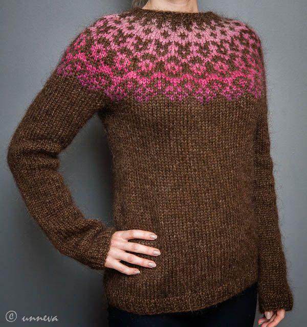 Icelandic Lopi Sweater Wild Thyme by unneva on Etsy, $165.00