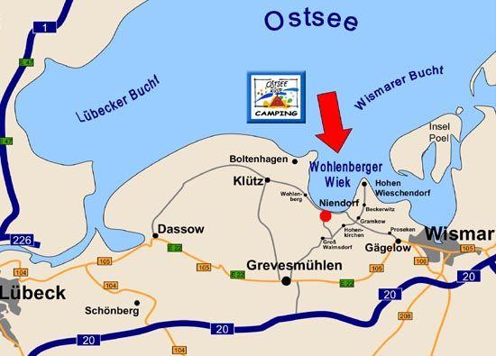 www.tierischer-urlaub.com - Urlaub mit Hund, Katze & Co  Lage (c) Ferienanlage Seeblick