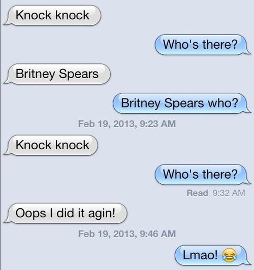 The Worst Knock Knock Joke Ever
