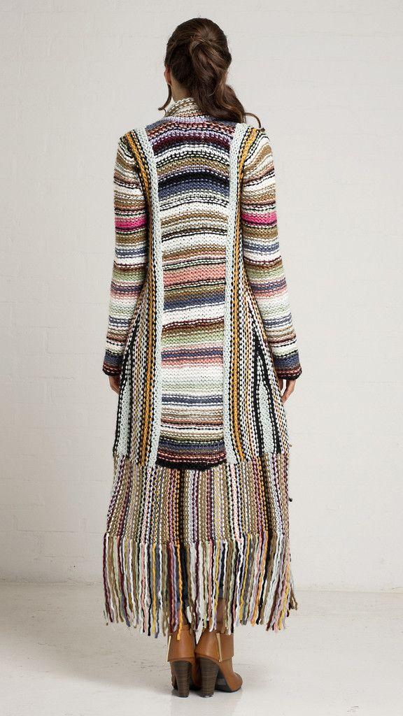 Striped Multi Color Cardigan