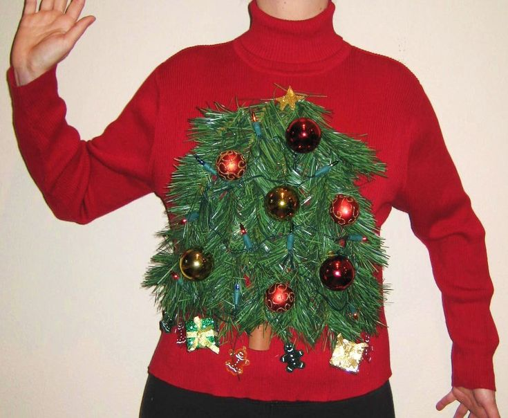 Ugly Christmas Sweater Ideas | Ugly Christmas Sweater