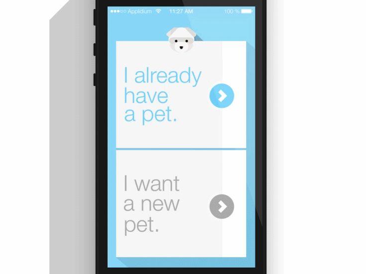 walkthrough design for Pemory app by rice tseng