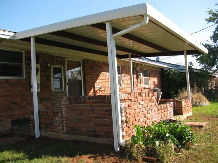Patio Cover Del City Large Covers And Carports Okc Metal