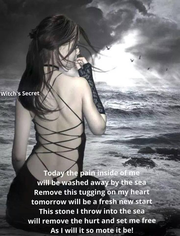 Witch's Secret, I have given my sadness and tears to the sea x