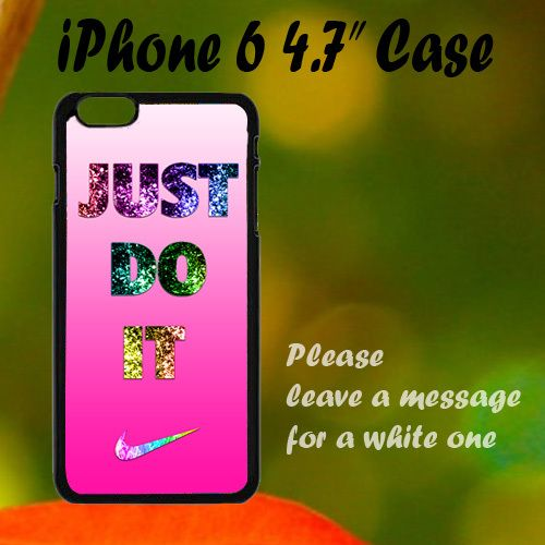 "Nike Just Do It Pink Cute iPhone 6 4.7"" Case, Plastic Case, Best Case"