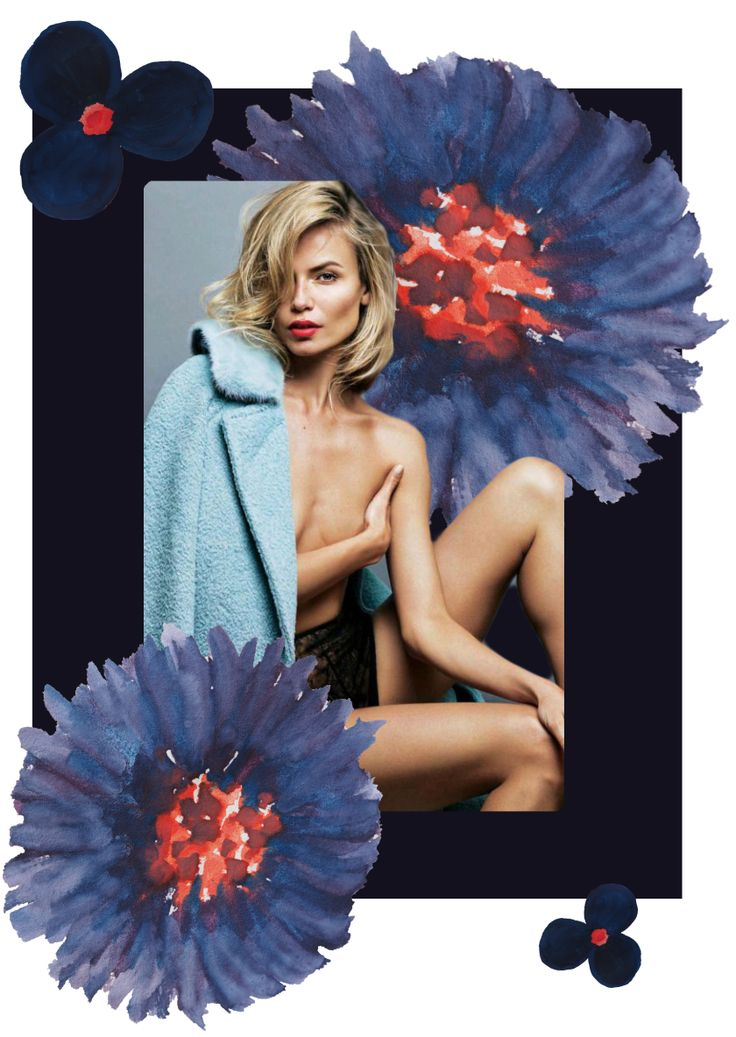 • Natasha Poly by Alique for S Moda, October 2015 • digital collage by norlaura