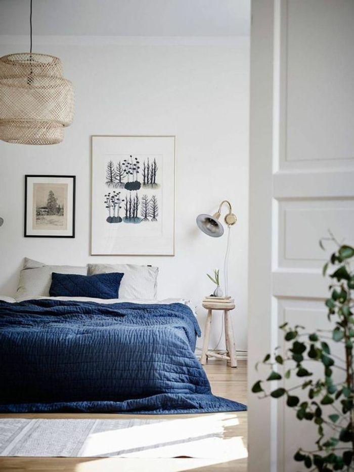 Die besten 25+ Indigo schlafzimmer Ideen auf Pinterest Marine - farbe für das schlafzimmer