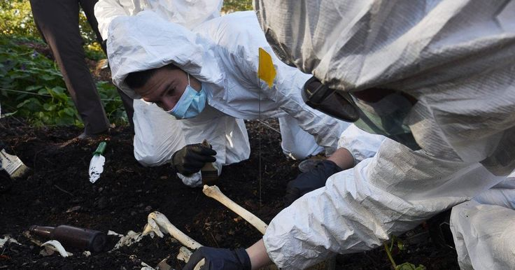 A forensic anthropologist took her John Jay College students to Central Park for a bone-chilling lesson.