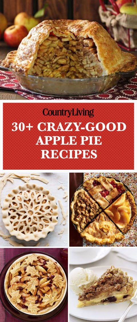 Save these apple pie recipes for later by pinning this image and follow Country Living on Pinterest for more.