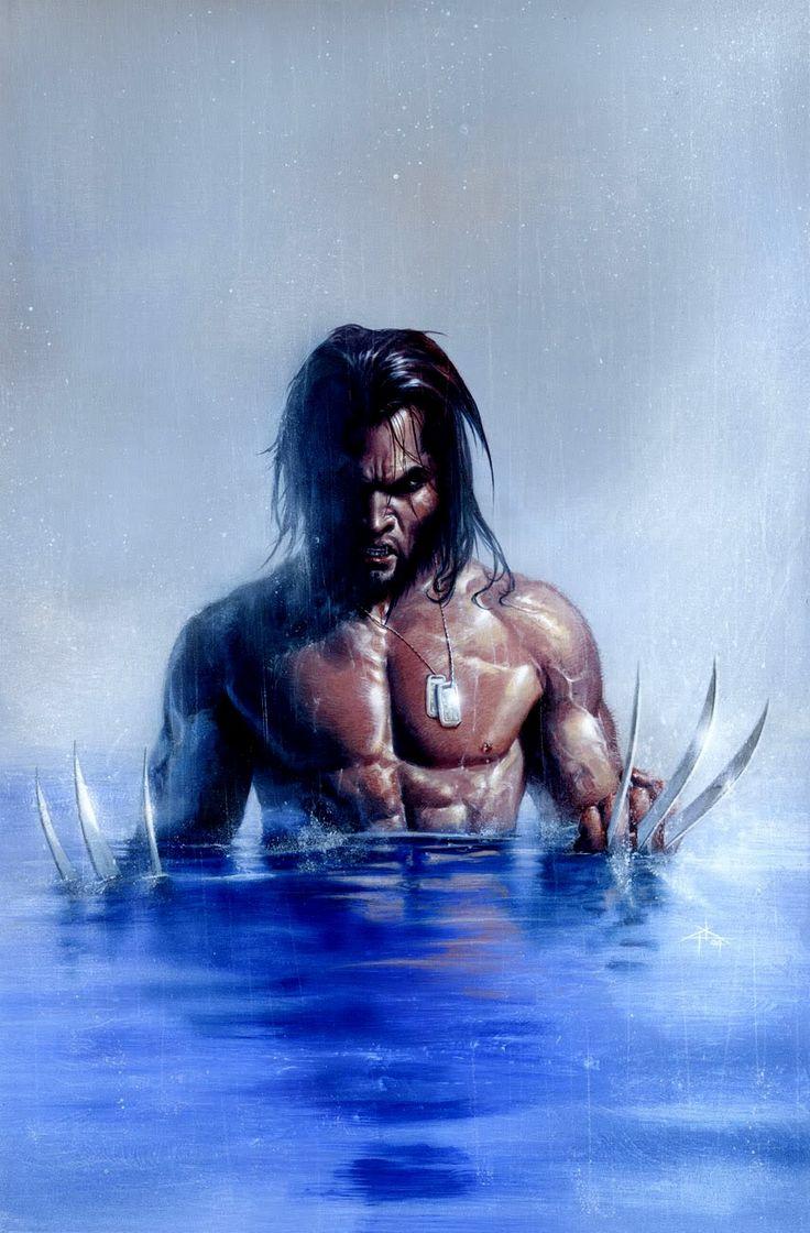 Wolverine - by Gabriele Dell'Otto | #comics #marvel #wolverine
