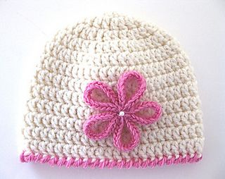 How to crochet a double crochet newborn thru adult hat sizes tutorial
