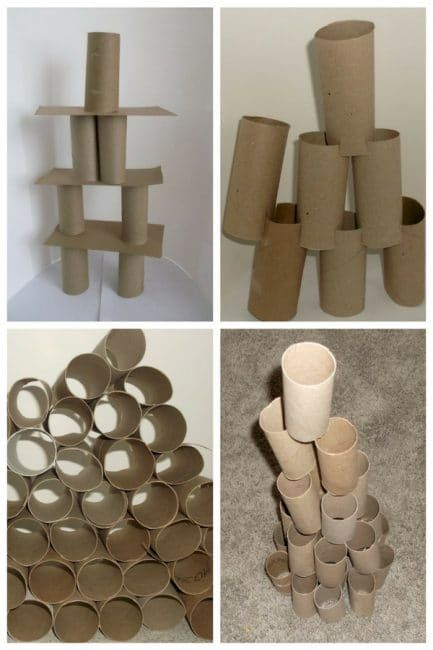 25 Ways To Build Towers Without Blocks Fine Motor Activities For Kids Fine Motor Activities Preschool Construction