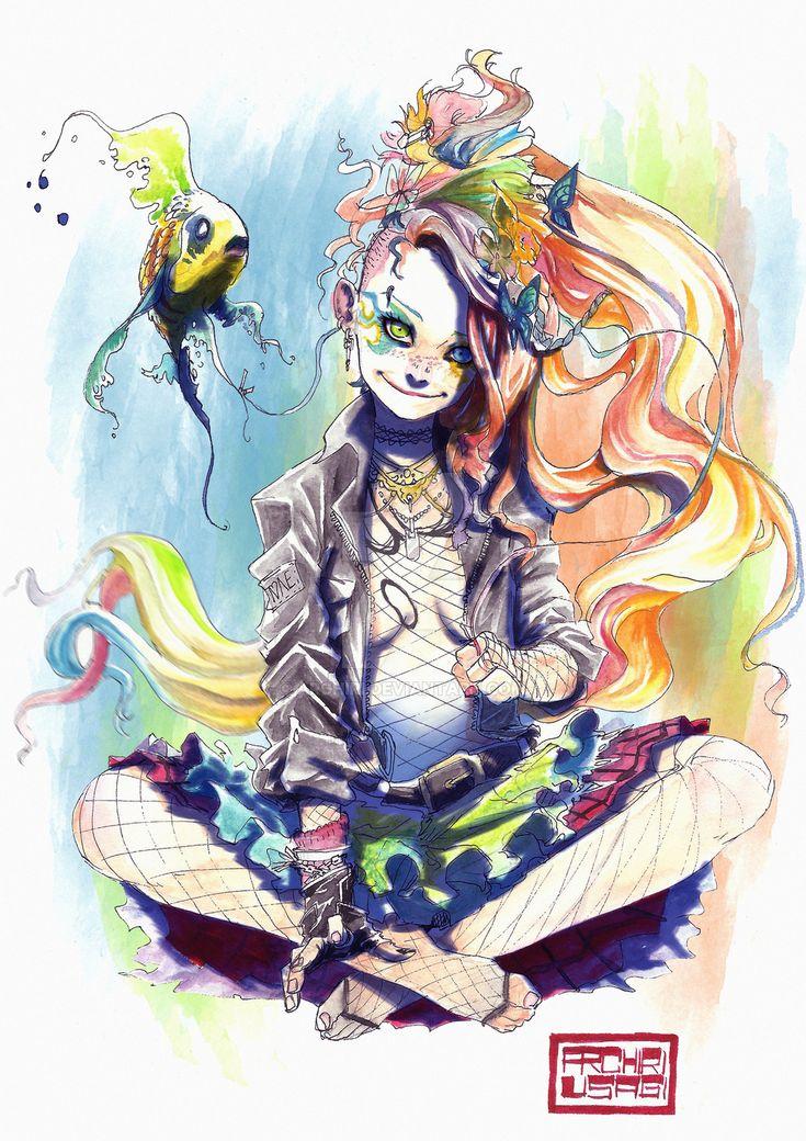 Delirium by Archiri.deviantart.com on @DeviantArt