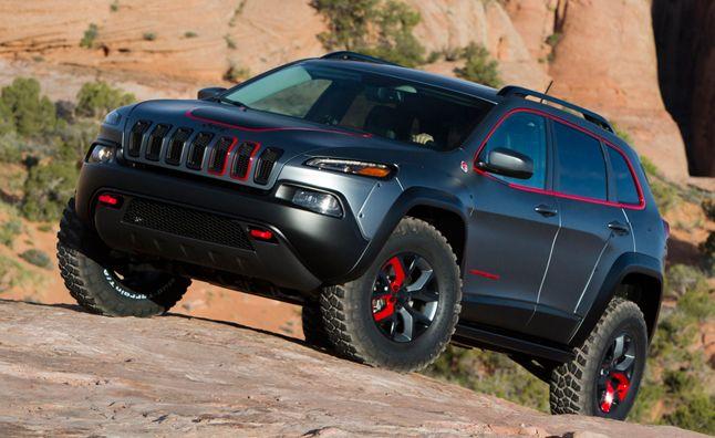 2014 Jeep Cherokee Dakar in Moab, Utah