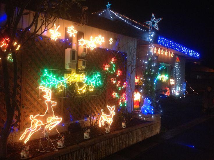 土岐市で定評のあるクリスマスイルミネーションスポット。