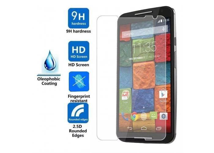 Guili Guili Fundas y Accesorios Para Smartphone: Mica Cristal Templado Motorola Moto X2 Gorilla Glass 9H - Kichink