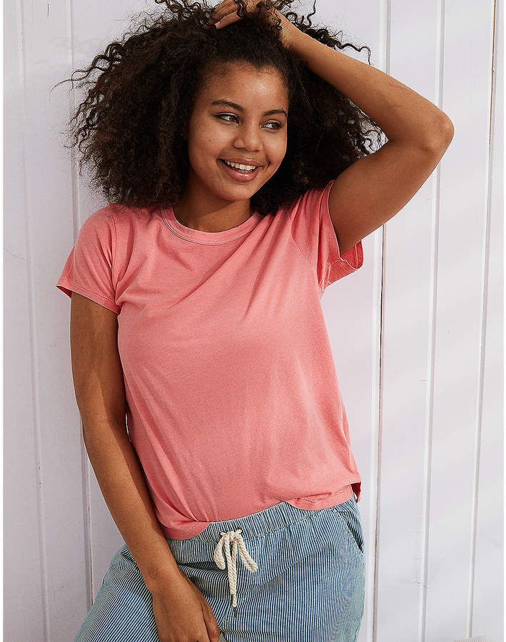 eda126d119a88c Aerie Real Soft Tee #Aerie #americaneagleoutfitters #tee #sponsored |  Summer Apparel for Women | Clothes for women, Mens outfitters, Aerie real