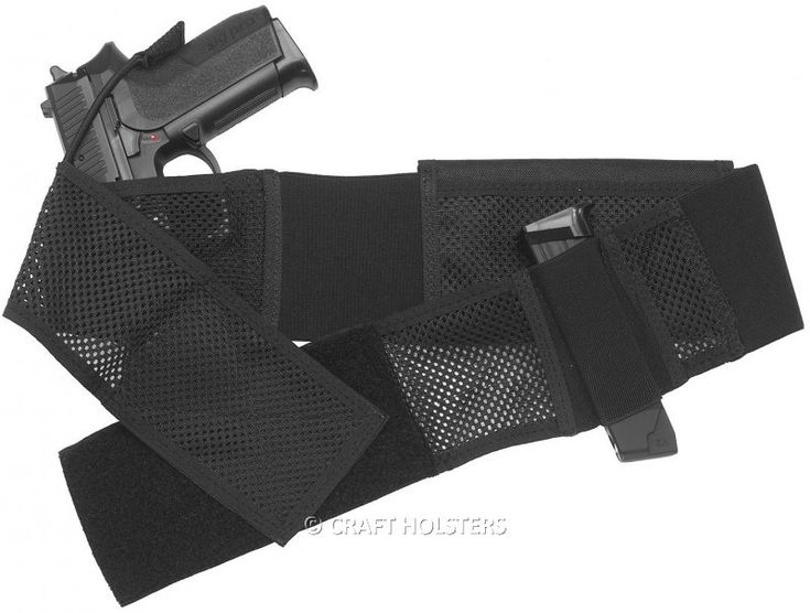3Rd Generation Of Belly Band Gun Holster | Craft Holsters®