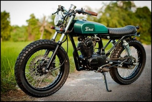 Deus motorcycle. Cool brand from Austrailia.