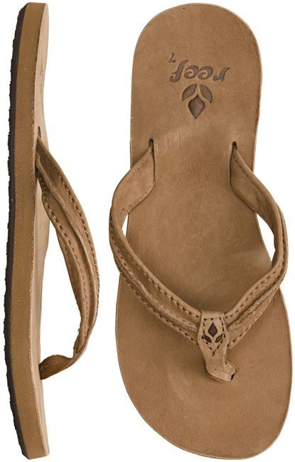 My FAVORITE SANDALS aside from hundred dollar ones, I have in the past 5-6 years bought three pairs they last about 1-1/2 wearing them almost everyday and everyday in summer!! REEF sandals ONLY get LEATHER STYLE they are durable!