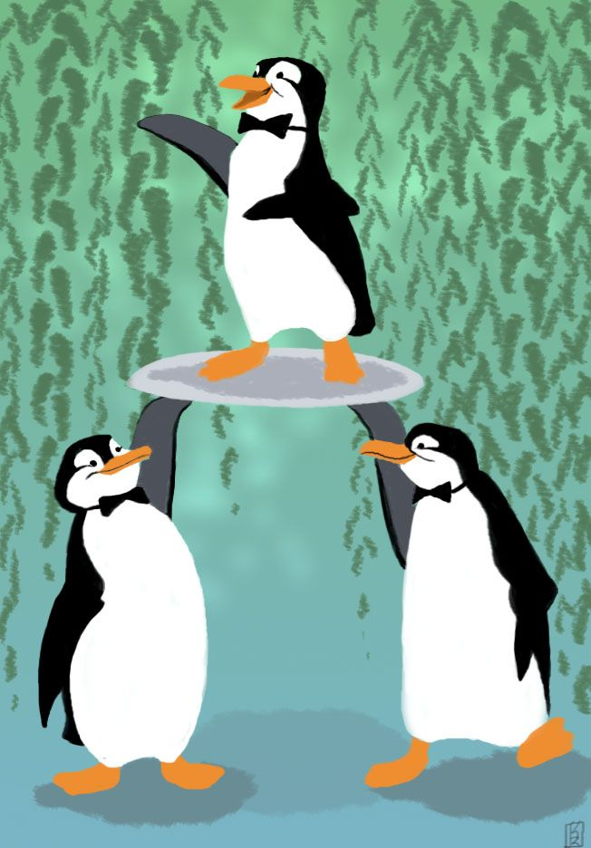 Poppins's Penguins by Reine-Haru on deviantART