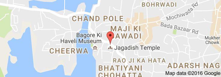 Map of Ink Rider Tattoo & Art Studio - Udaipur
