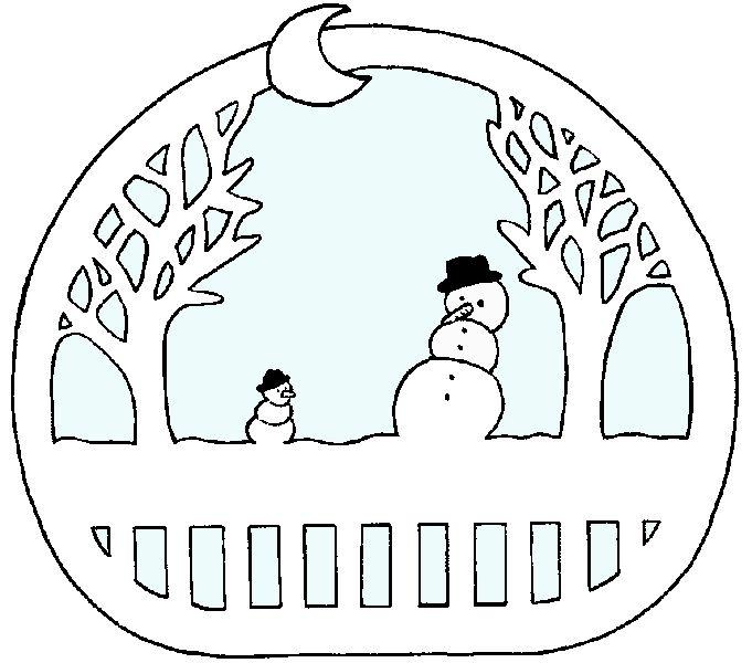 kerst raamversiering sneeuwpop