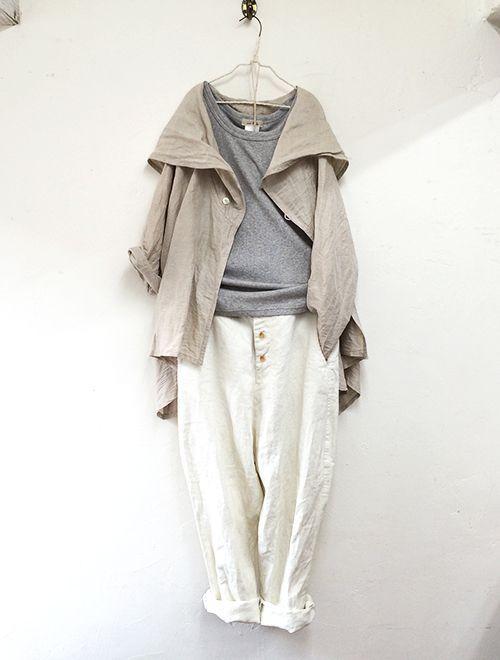 PICK UP >> British army shirt & jodhpurs pants | nest Robe ONLINE SHOP | nest Robe Shop Blog | ネストローブの公式ショップブログ