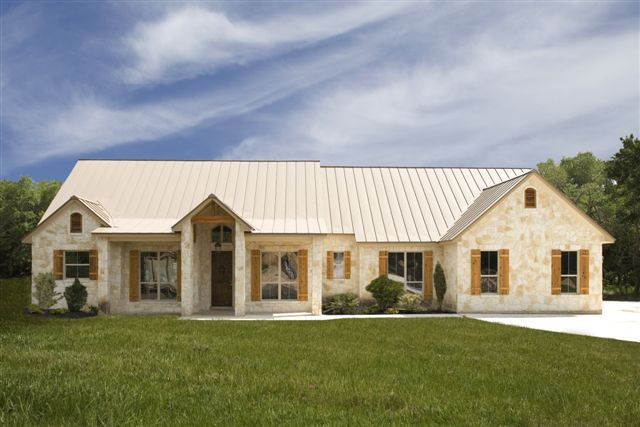Texas Hill Country Home Plans Floorplan 141 Kb Home