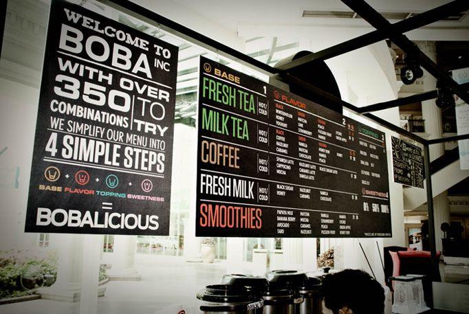 Boba, #menuboards | Menu Board | Pinterest | Pull it, Food ...