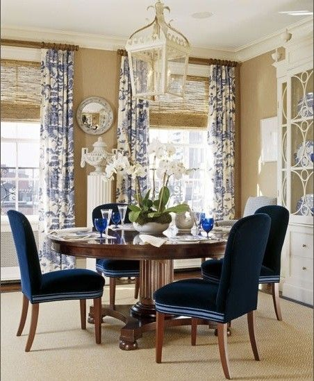Love this shade of blue// South Shore Decorating Blog: 50 Favorites For Friday (#56)