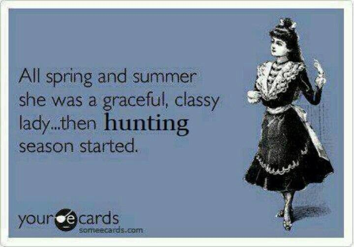 Hunting season!