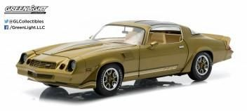 1:18 CHEVY CAMARO Z/28 GOLD METALLIC WITH STRIPE 1981