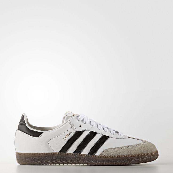 adidas - Samba Shoes Footwear White/Core Black/Gum BB2540