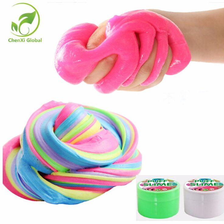 Cotton Mud SLIM PUFF SLIME Plasticine DIY Mud Decompression Vent Toys Pinata Fillers Keyboard Cleaning Slime Toy