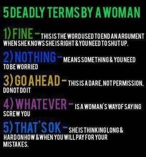 5 informative terms from a woman***Research for possible future project.: Dead Term, Bahaha Amenities, Darn Accur, Better Watches, Pretty Accur, Gay Men, Woman So True, True Men'S, Pretty Darn