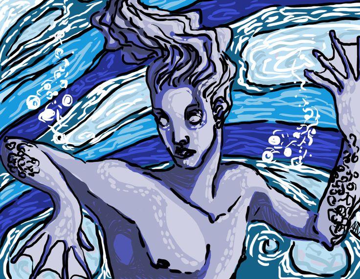 Alessia V, 'Merman prince', digital 2013.