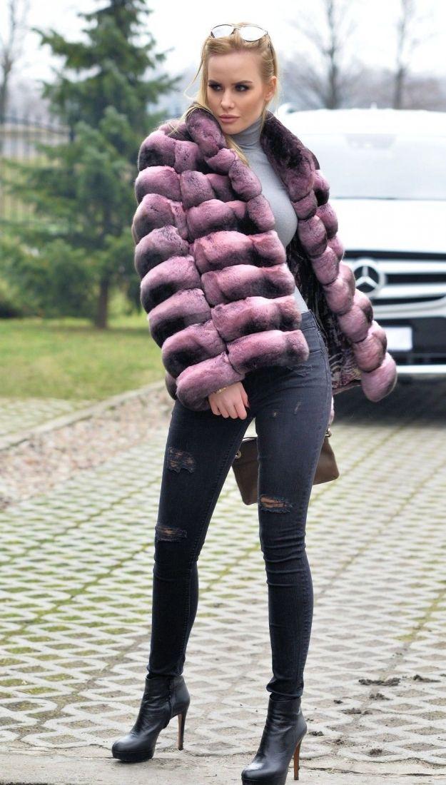 chinchilla furs  - 2015 lafuria royal chinchilla fur coat                                                                                                                                                                                 More