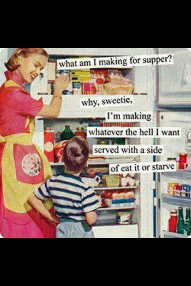 What's for supper?Laugh, Quotes, Dinnertime, Growing Up, Dinner Time, Suppers, Funny Stuff, Kids, Picky Eaters