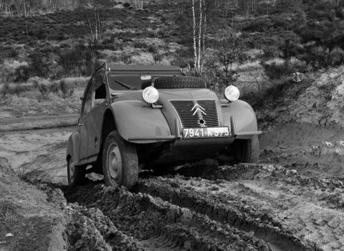 1958 - 1961 Citroen 2CV 4x4 Sahara