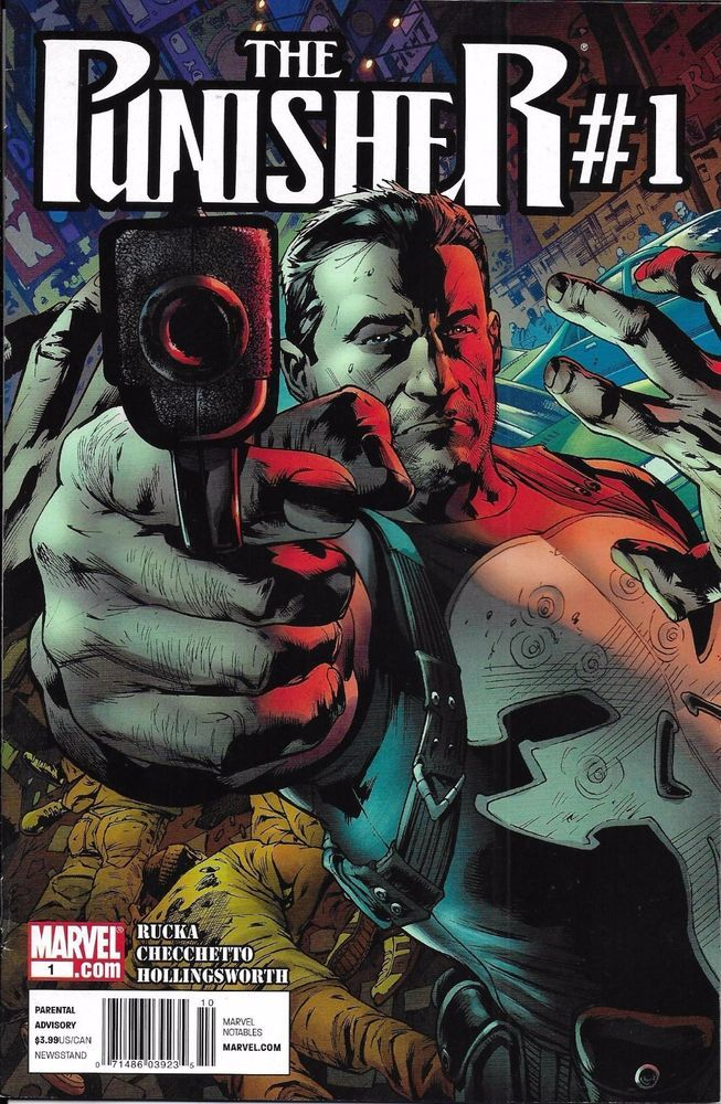 Marvel The Punisher comic issue 1