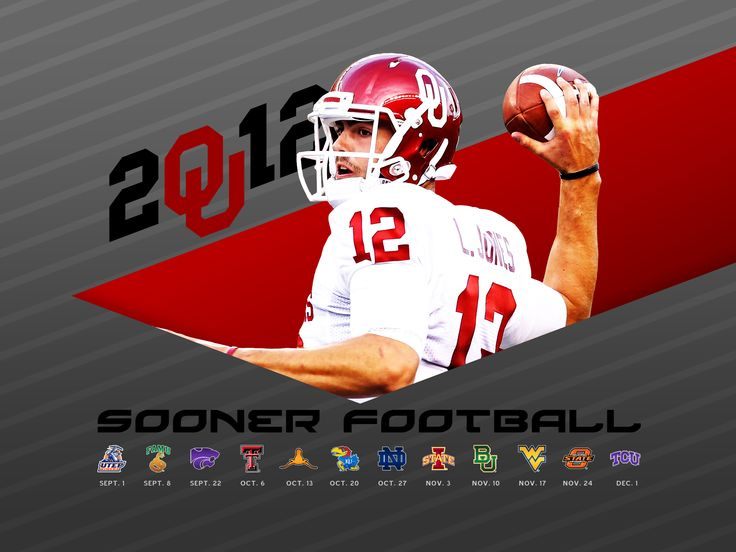 2012 OU Football Schedule wallpaper for iPad & iPhone