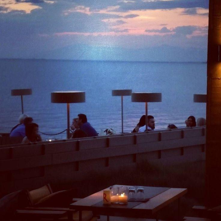 Let the sun go down.. Let the dreams begin... #sunset #nature #sun #summer #thessaloniki
