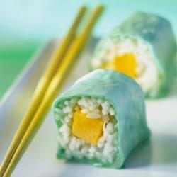 Dessert Sushi Recipe With Marzipan