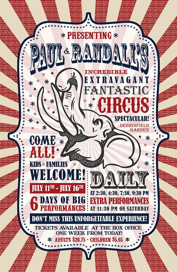 25 best ideas about circus poster on pinterest circus for Circus posters free