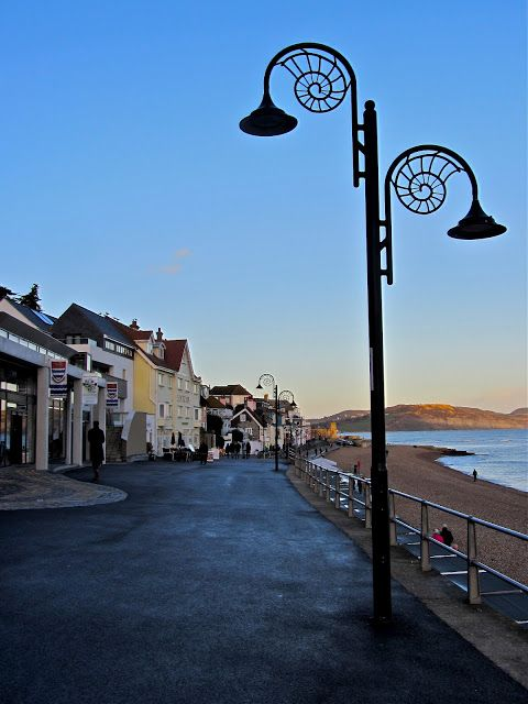 Lyme Regis, England - home of Mary Anning