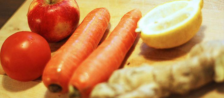Carrot flu fighter smoothie recipe