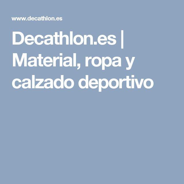 Decathlon.es | Material, ropa y calzado deportivo