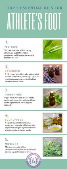 5 Essential Oils For Athlete's Foot - Cure and Home Remedies
