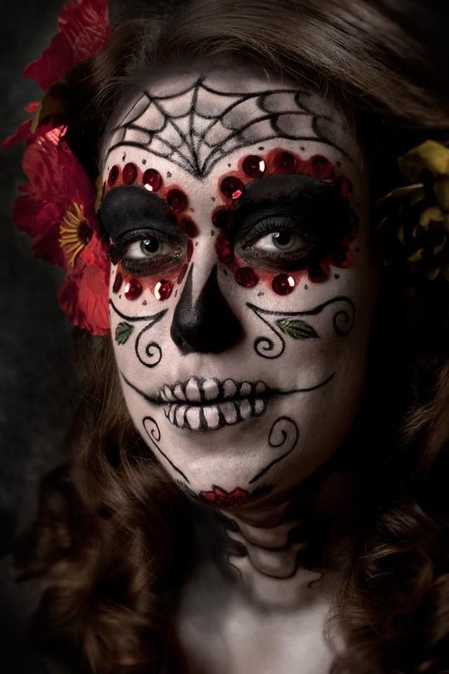Just a little shameless self promotion... Dia De Los Muertos makeup @ www.facebook.com/emilyckgphotography